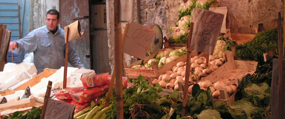 SPRINGTIME IN SICILYIn the markets of Palermo, vendors share deliciously imprecise recipes
