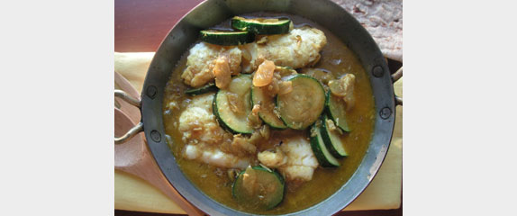 Maharashtra fish curry