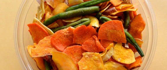 Veggie chips, from garden-variety to great